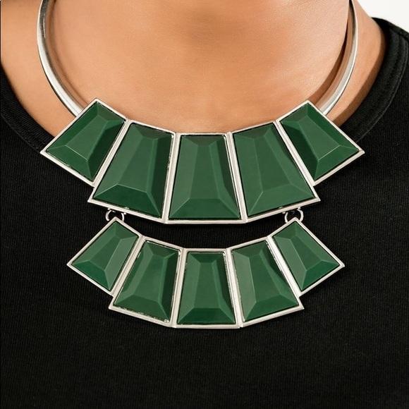 paparazzi Jewelry - New! Paparazzi Lions, TIGERS, Bears Green Necklace